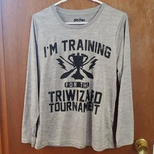 Training for the triwizard Harry Potter athletic
